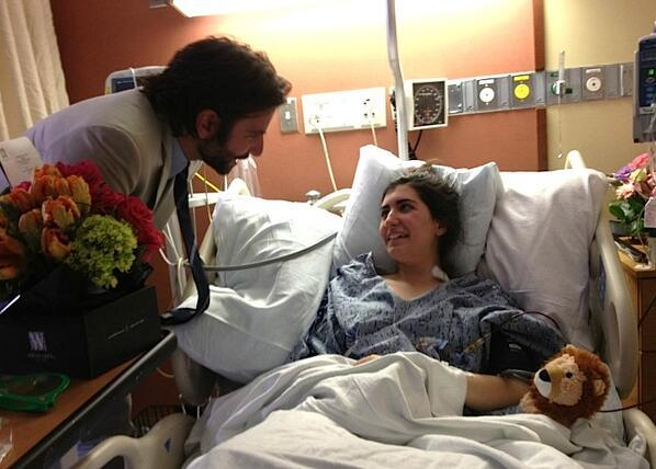 Boston bombing victim Sydney Corcoran of Lowell gets uplifting hospital visit from actor Bradley Cooper.