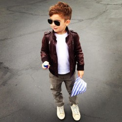 glamtastic:  If I ever have a son, this WILL be him.
