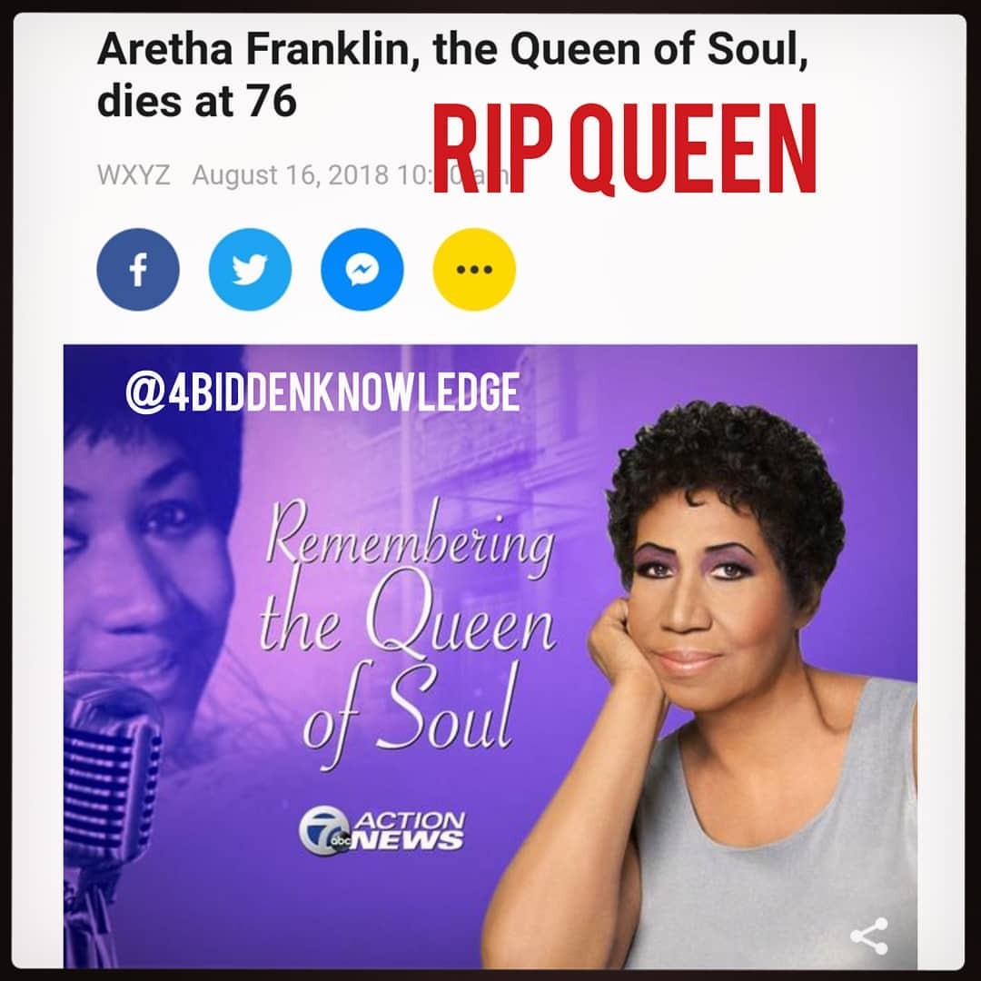 #RIPArethaFranklin