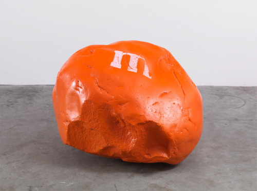 artruby:  Dan Colen, M&M's Sculpture (2012).
