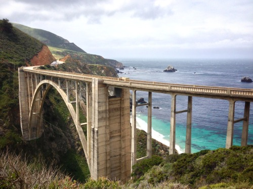 Bixby Bridge. Big Sur, CA, 2013.
