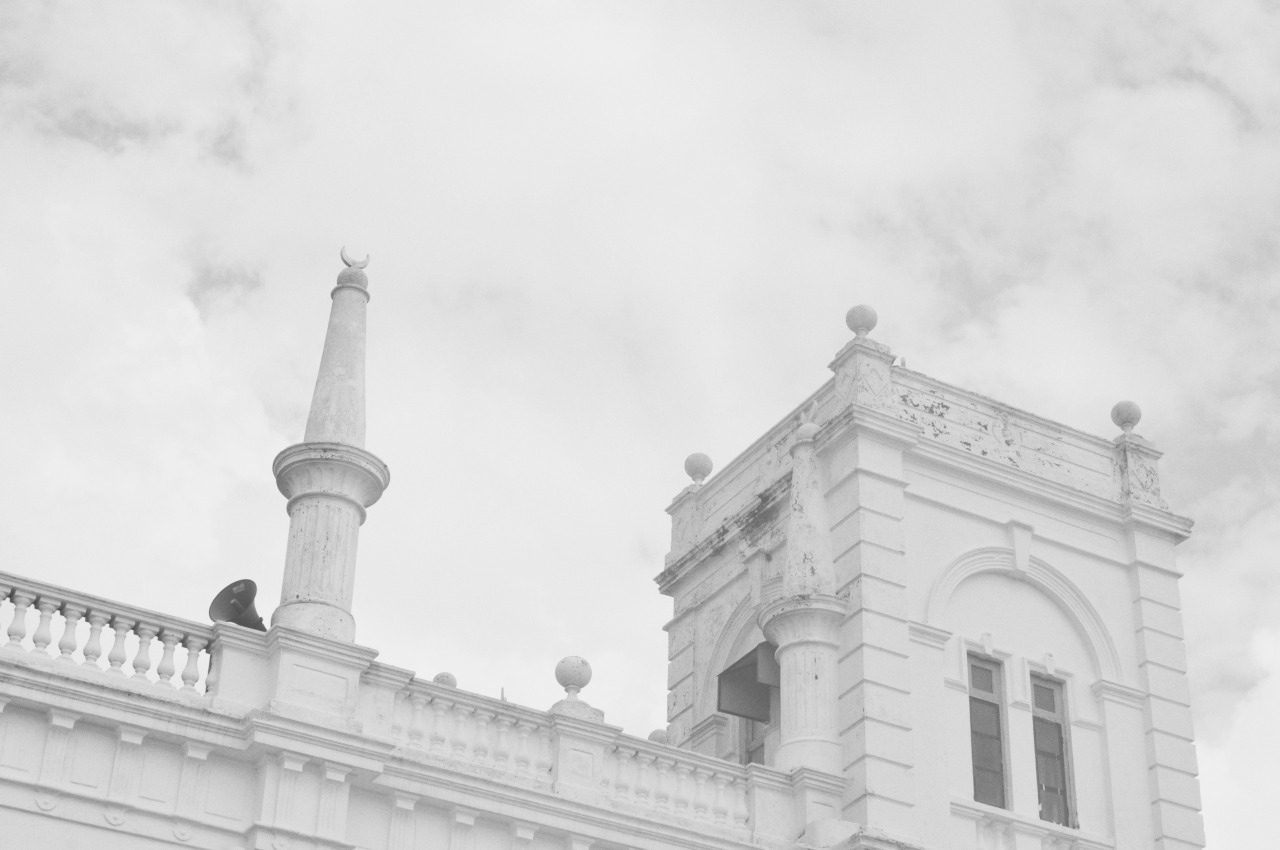 Galle Fort mosque, 2013