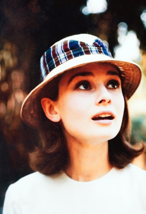 theniftyfifties:  Audrey Hepburn on set of 'The Nun's Story', 1959.