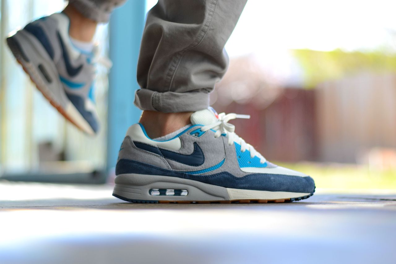 sweetsoles:  size? x Nike Air Max Light 'Easter Pack' Blue (by mackdre775)