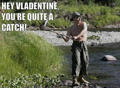 I'm hooked on a feeling today.  Happy #VladentinesDay, ladies!