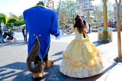 mydisneyadventures:  Beauty and the Beast on Flickr.