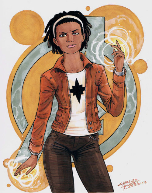 charlesholbert:  Monica Rambeau  Oh YES. I am so wearing this! Thanks Charles!! You rock! <3 <3 <3