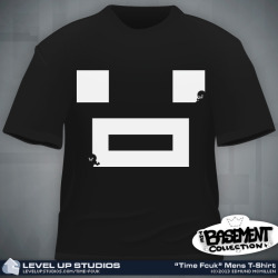 Official Time Fcuk tshirts now for sale at http://www.levelupstudios.com/time-fcuk ! Many of you have asked where you could buy the TF tshirt i tend to wear a lot… sadly i made it for myself and it wasnt possible for anyone but myself to own it till now!  pick up your TF tshirt and tons more isaac/smb related tshirts here http://www.levelupstudios.com/time-fcuk