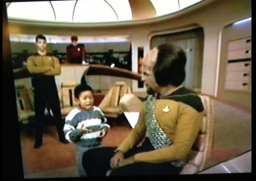 Then there was that time that Webster was hanging out with Worf. (Via @guyhutchinson)