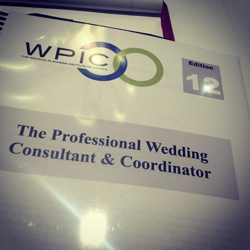 First day of learning for the rest of my life! #wpic #excited #life #career #weddingplanning