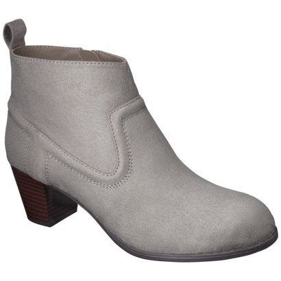 Pretty great deal: these Target ankle boots are marked down to $14.98 and most sizes are still available.