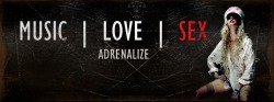 imtiredbutimalive:  A facebook banner made by me, Adrenalize by In This Moment. Feel free to use it.