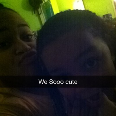 Snapchat me and my baby cousin : janee.merritt 😘😘❤❤☺✋👏👏💞