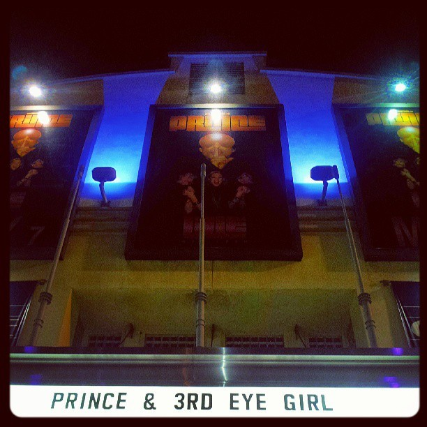 So this is where tonite's mystery limo has taken us, #PRINCE #LIVE !!!! Wow @ruffedgez wifey I love you! #early #anniversary #dance #music #love #life #fun #bless  (at City National Grove of Anaheim)