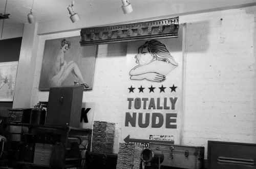 """Totally Nude"" Los Angeles, California November 2011 Nikon FM2"