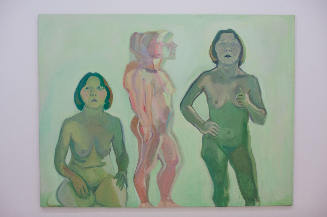 Exhibition Maria Lassnig at MOMA PS1, March 9–September 7, 2014  Photographs by Blair Prentice (iheartmyart)