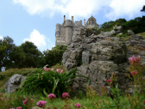 St. Michael's Mount  by Frau Schletterer on Flickr.