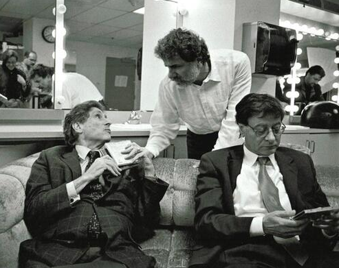 Edward Said, Marcel Khalife, Mahmoud Darwish.