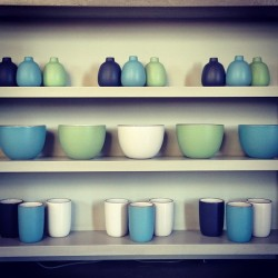 heathceramics:  Summer is here… (at Heath Ceramics)