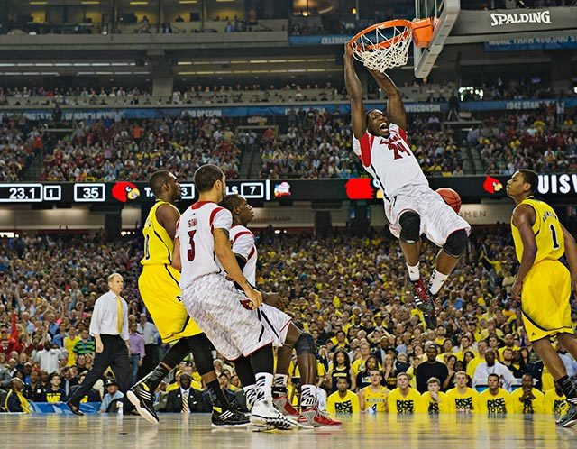 Louisville 82, Michigan 76 (John W. McDonough via SI.com)