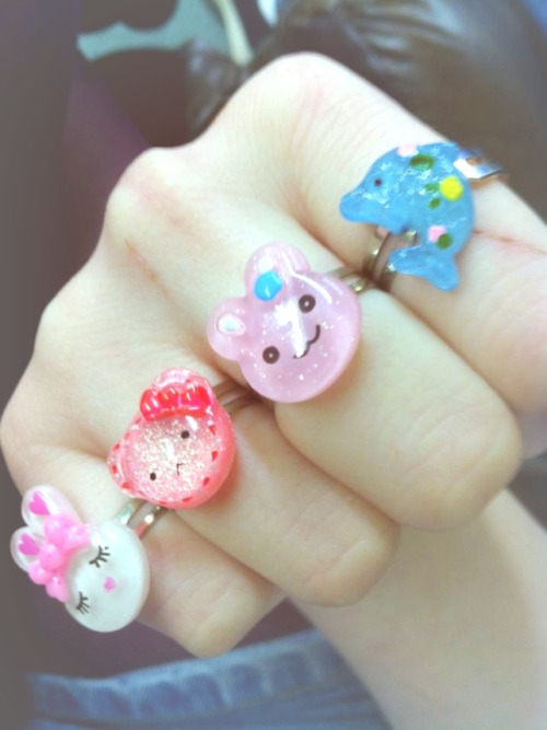 My new rings ^~^