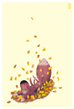 eatsleepdraw:  A Roll in the Leafs follow David Jackson on Tumblr