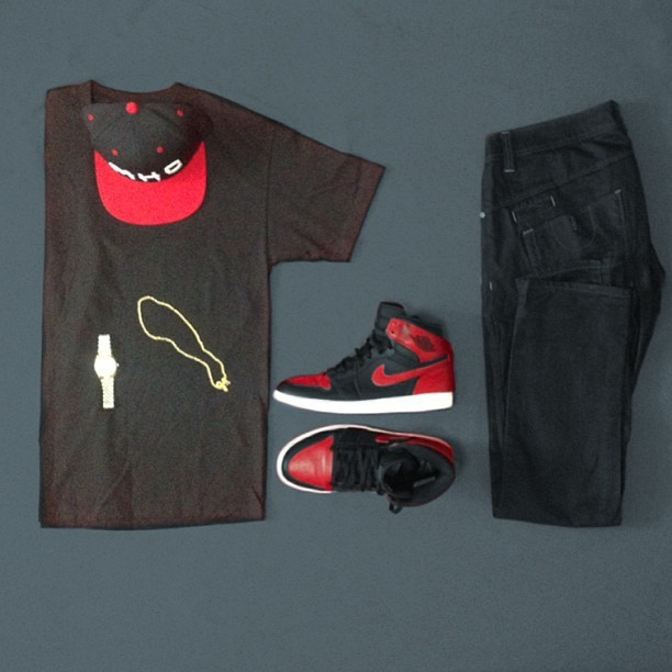 Fit of the day: Most High co., Air Jordan 1. #wiwt #kotd #ootd #outfitgrid #mosthighco #MHC #Jordan @outfitgrid