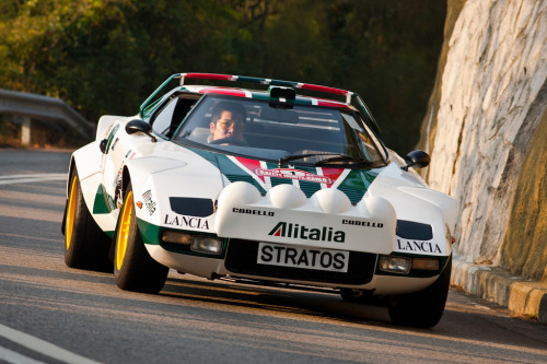 carpr0n:  Driving to another planet Starring: Hawk Lancia Stratos (by Rupert Procter)