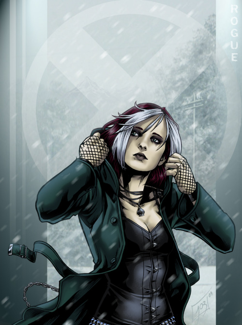 lulubonanza:  Just Rogue by ~djinn-world