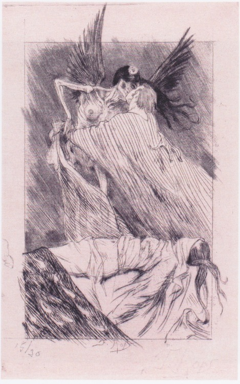 1910-again:  Felicien Rops (1833-1898), Kisses of Death n.d.