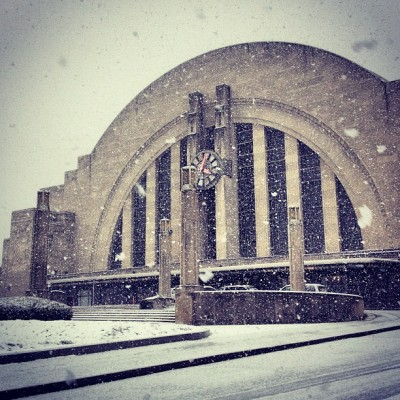 jasonbohrerphotography:  Stopped by @cincymuseum for some snow shots. #Cincinnati (at Cincinnati Museum Center at Union Terminal)
