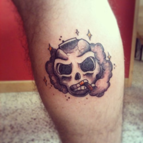 BadassSoce (at Bloodoath Tattoos)