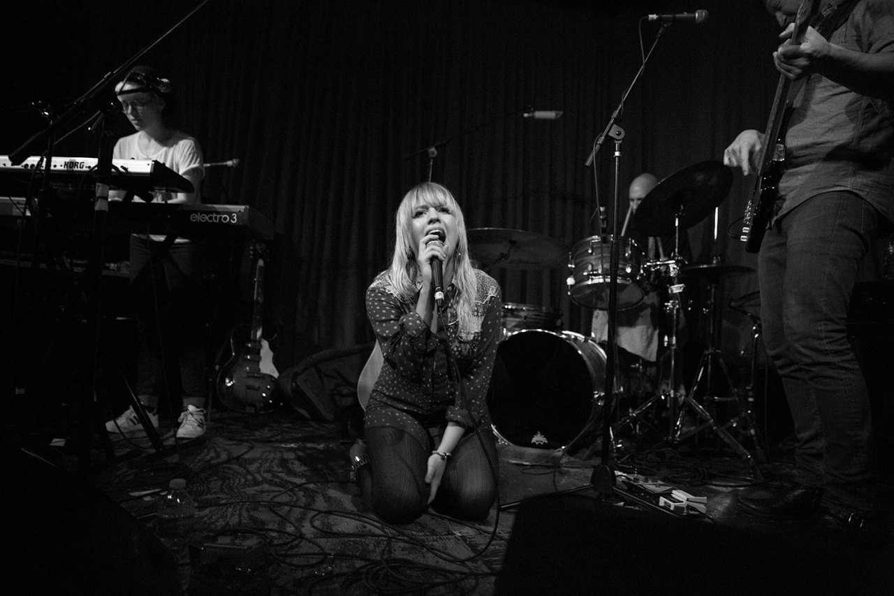 Alexz Johnson sells out Hotel Cafe in Los Angeles, CA. March 22, 2013.