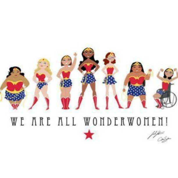 tessmunster:  Hell yes! Love this ♡ #wonderwoman #diversity