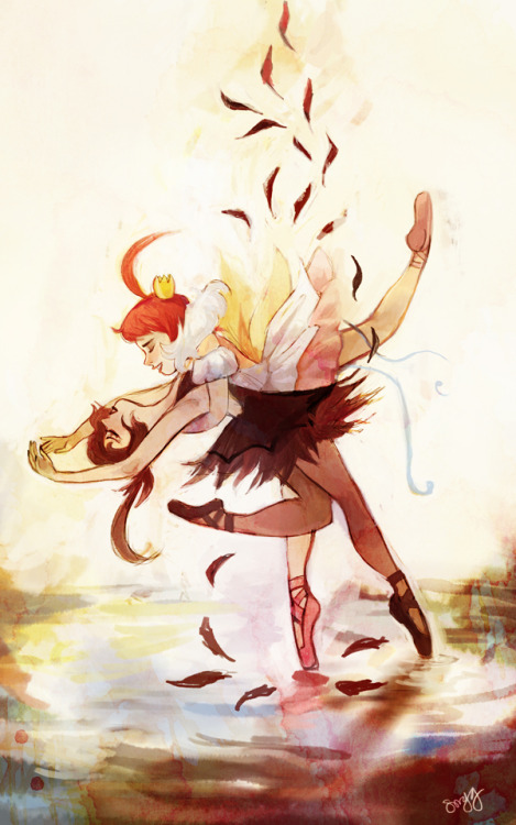 duedlyfirearms:  princess tutu! a great show that i really need to rewatch.  buy the print here!