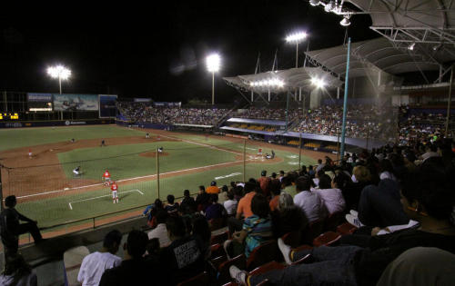 Diablos Rojos del Mexico vs. Guerreros de Oaxaca Estadio Eduardo Vasconcelos March 18, 2013 Oaxaca, Mexico Photo @Territorioscore