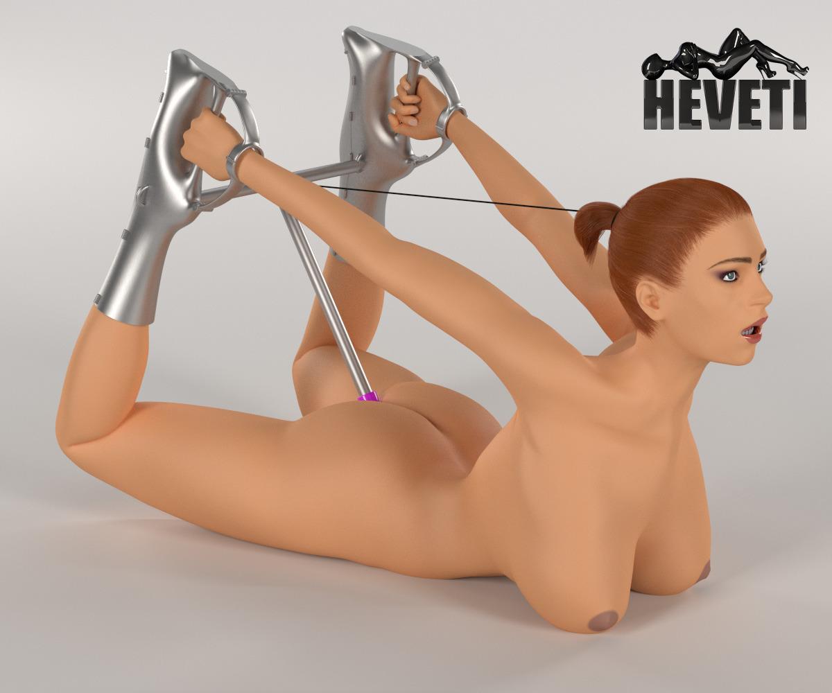 Nude girl slave dildo this