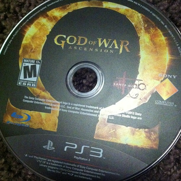 God of War🔪 #ps3 #godofwar #gassed #chillen #game #instalike #fuckwithme