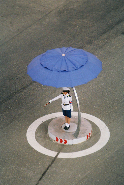 1000scientists:  Pyongyang Traffic Girl, 2009Raymond Cunningham