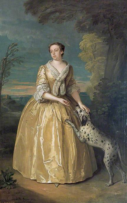 Henrietta, Lady Jenkinson by Philippe Mercier, 1742, the Temple Newsam House You have encountered A DOGE Options: PET DOGE SNUGGLE DOGE FEED DOGE You have chosen PET DOGE THE DOGE IS PLEASED