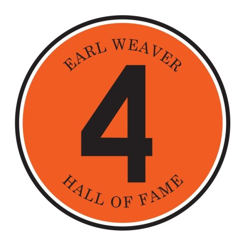 Earl Weaver patch to be worn this year by the Baltimore Orioles