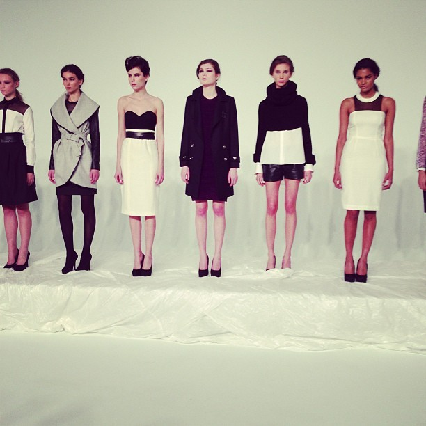 New York Fashion Week:  The line-up at Susan Woo (via Elle)