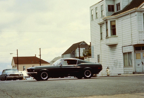 "Steve McQueen in ""Bullitt"" by Beast 1 on Flickr."