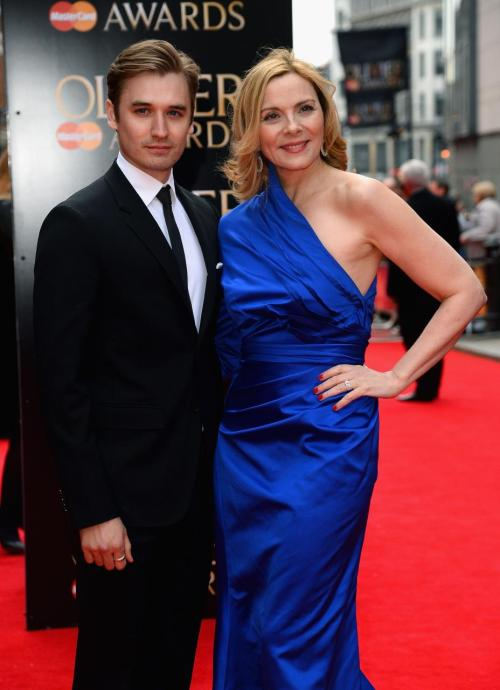 Seth Numrich and Kim Cattrall attend The Laurence Olivier Awards at the Royal Opera House on April 28, 2013 in London, England  If you are in London and you do not see these two in Sweet Bird of Youth at the Old Vic, I'm pretty sure we can't be friends any more.