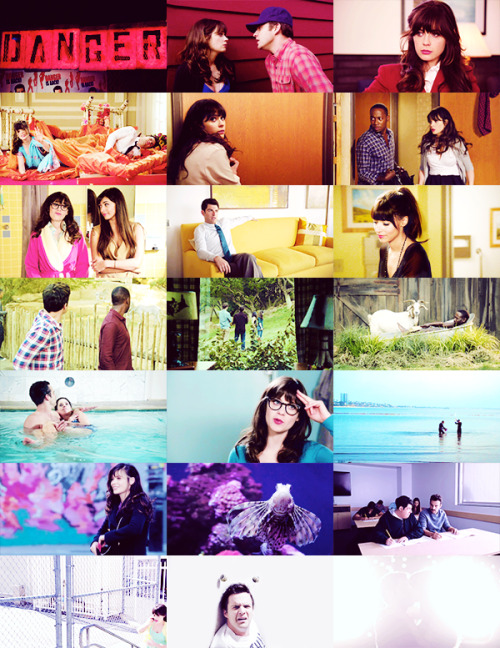 (click for larger) new girl, season two