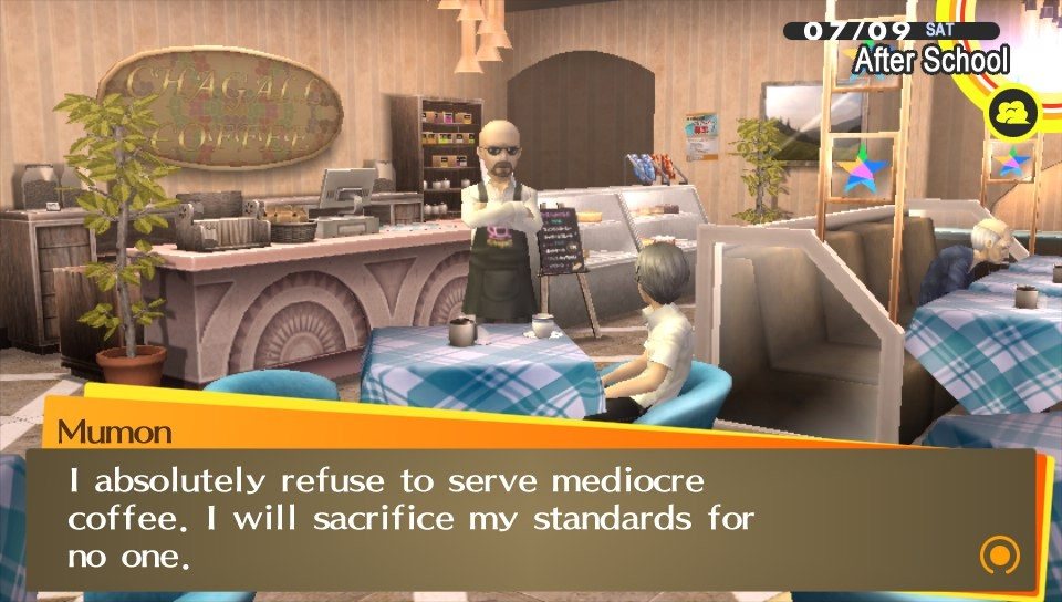 Holy Shit, I didn't know Walter White was in Persona 4 Golden!