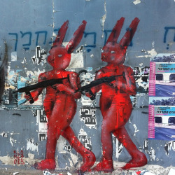 Double. by Klone Yourself ! on Flickr.Nice bunnies in Tel Aviv