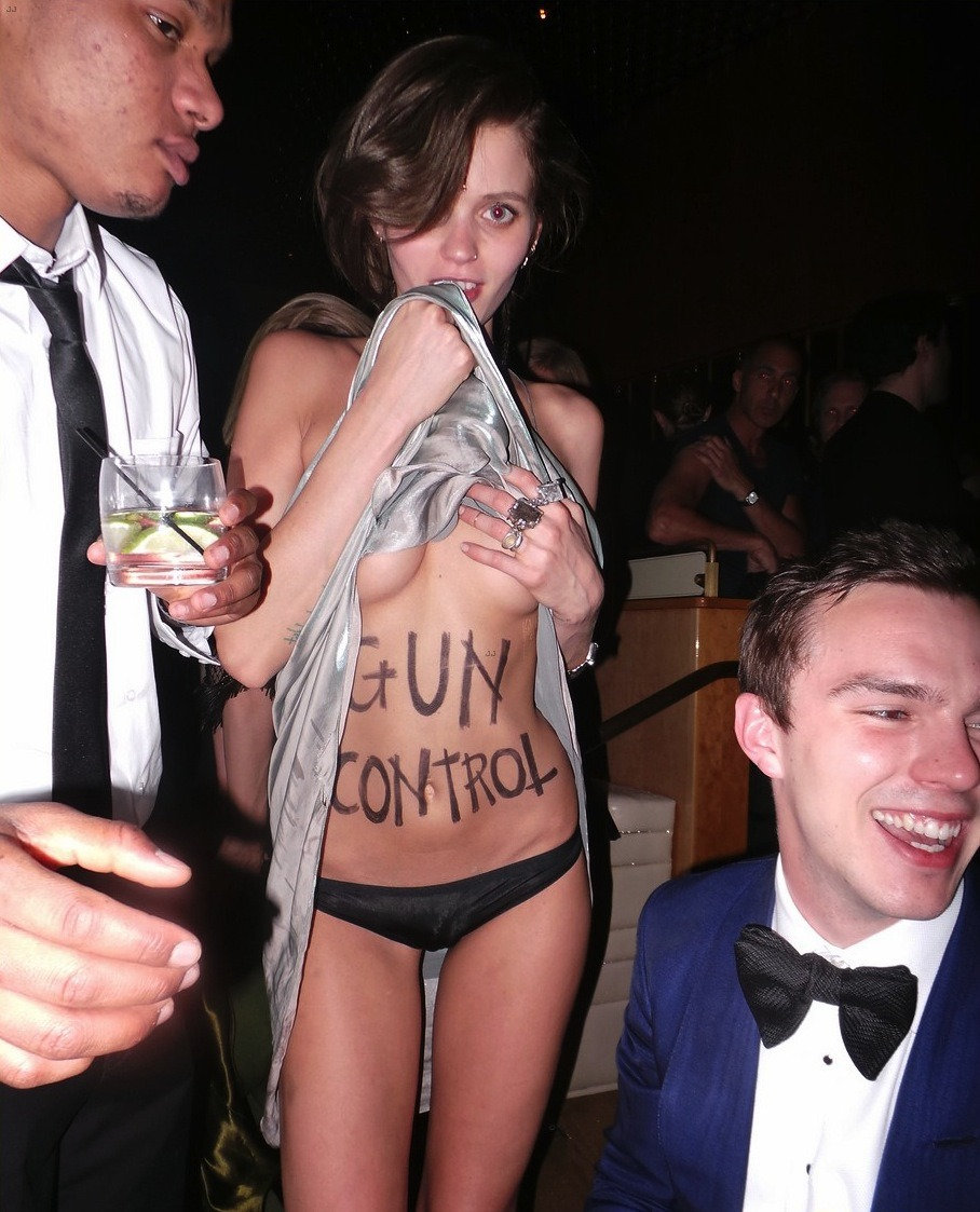 fyabbeyleekershaw:  MET Gala 2013 After-Party: Abbey Lee and Nicholas Hoult