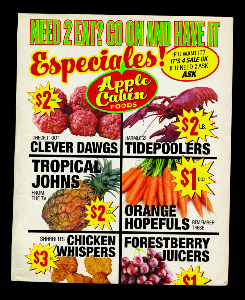 liartownusa:  Apple Cabin Foods No. 6