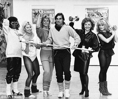 George Best launching the Shape Up And Dance LP with Patti Boulaye, Suzanne Dando, Mary Stavin, Lulu and Jay Aston